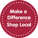 Make a difference in our community - Shop Local at Gundersen's Floors To Go in Rexburg!