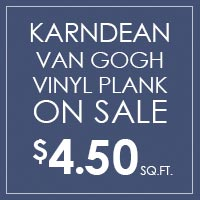 Karndean Van Gogh luxury vinyl on sale $4.50 sq.ft. at Gundersen's Floors To Go in Rexburg!
